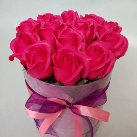 РОЗА ИЗ МЫЛА,Летний вечер: букеты цветов на заказ Flowwow