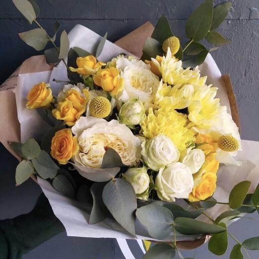 Лимонный: букеты цветов на заказ Flowwow
