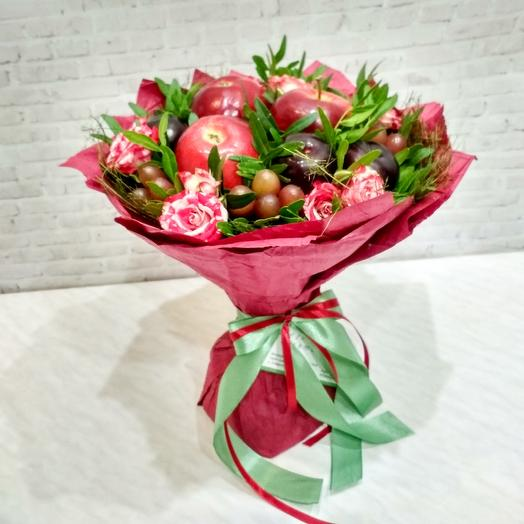 """Букет """"Красный бархат"""": букеты цветов на заказ Flowwow"""