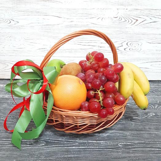 Корзина с фруктами Mini 1: букеты цветов на заказ Flowwow