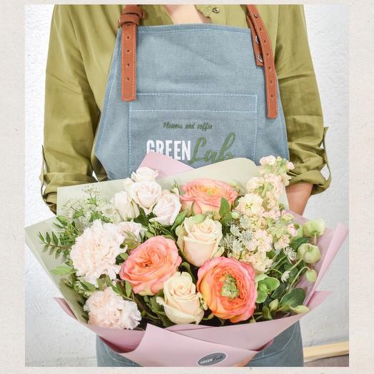 Букет утренний поцелуй: букеты цветов на заказ Flowwow