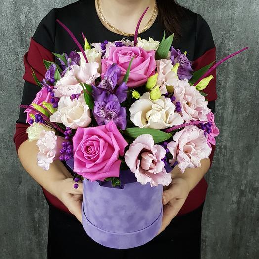 Лавандовый зефир: букеты цветов на заказ Flowwow