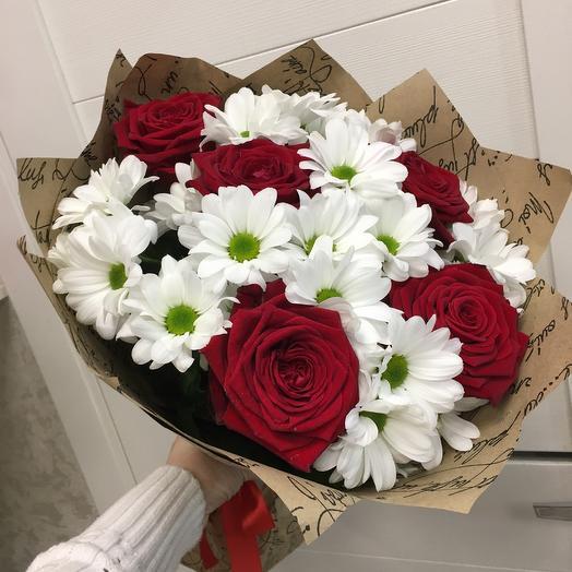 Татьяне с любовью: букеты цветов на заказ Flowwow