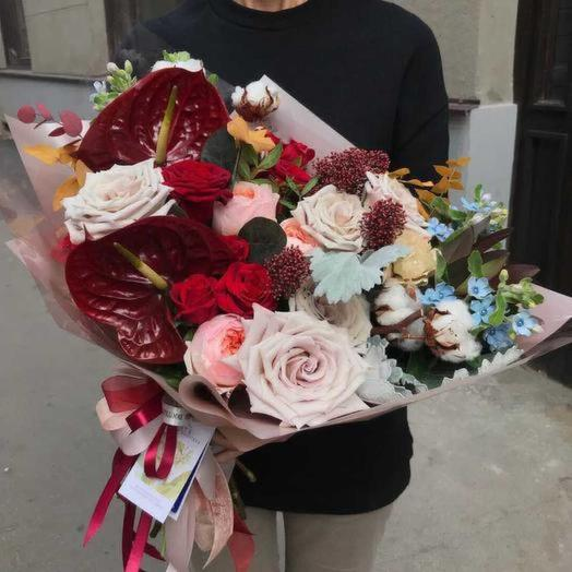 Александра: букеты цветов на заказ Flowwow
