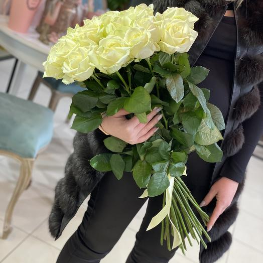 Белая Роза 25 шт