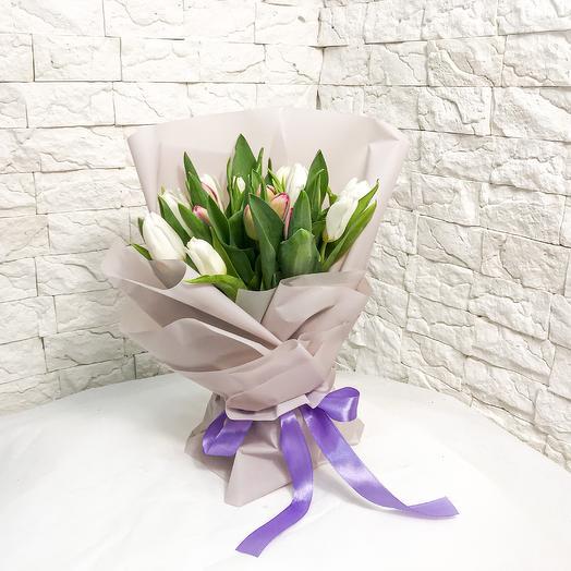 Букет тюльпанов «Sweet weather