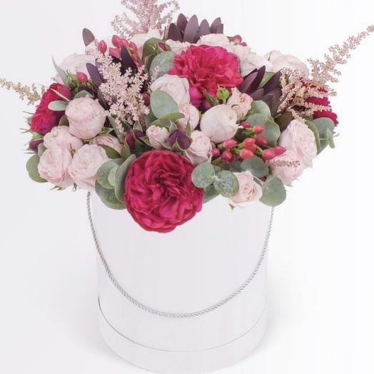 "Коробка с цветами ""Кристина"""