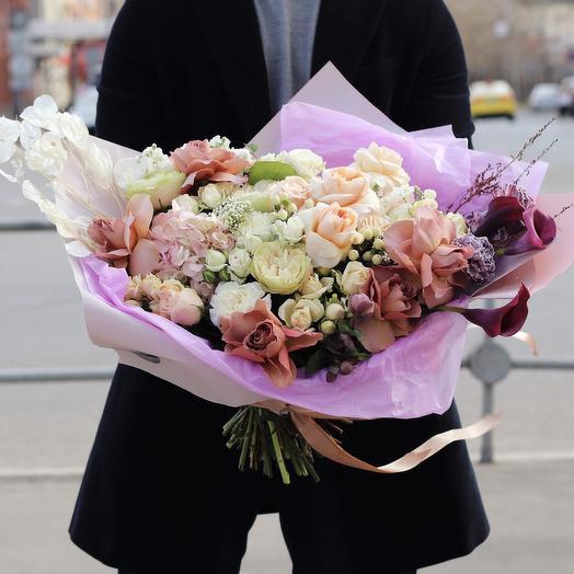 Букет «Дэвид»: букеты цветов на заказ Flowwow