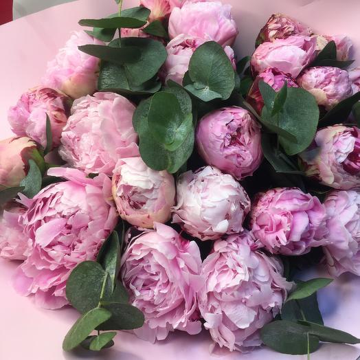Букет Пионовое Облако: букеты цветов на заказ Flowwow