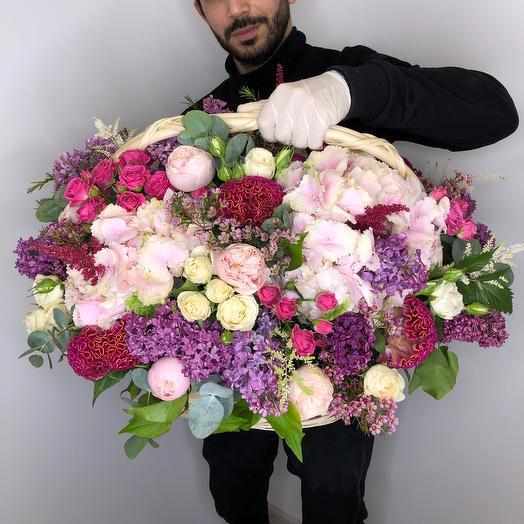 «Розовый Рай»: букеты цветов на заказ Flowwow