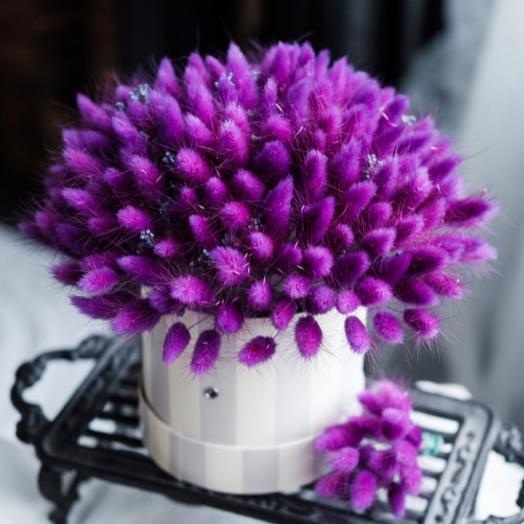 Коробка сухоцветы: букеты цветов на заказ Flowwow