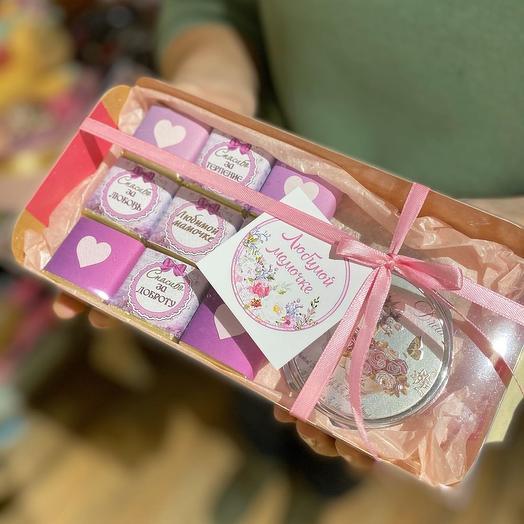 Шокобокс + подарок 💝для Мамочки