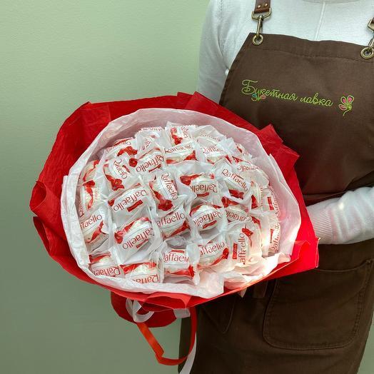 Bouquet of 35 Raffaello candies