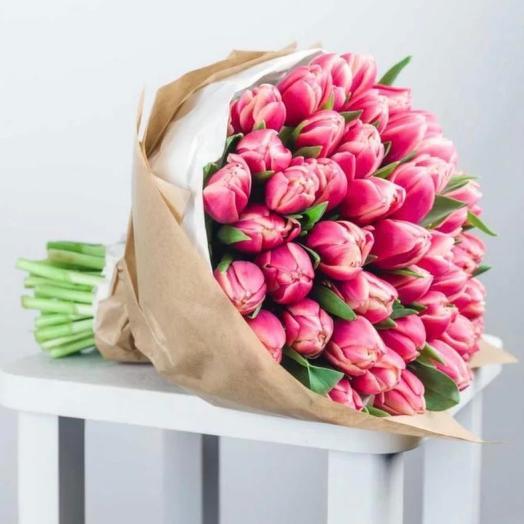 Тюльпаны сорта «Columbus» 45 штук