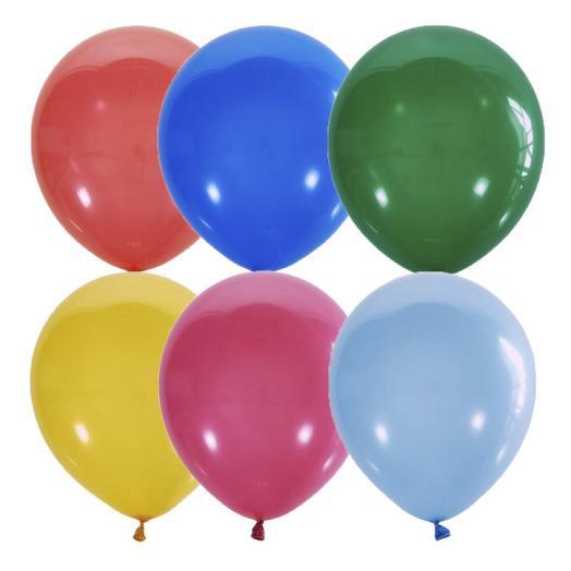 Набор шаров 5 штук  без рисунка