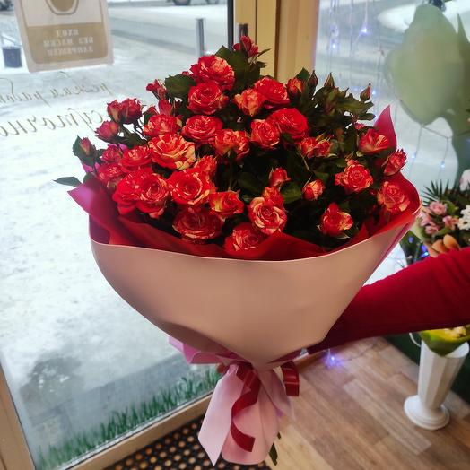 Букет из мини розы Фай фокс