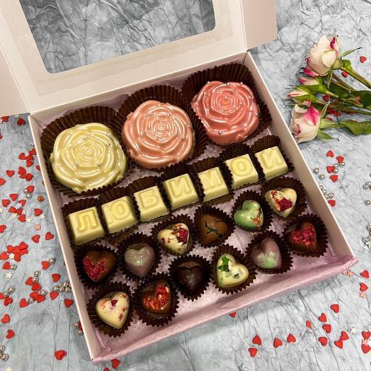 Шоколадный набор « Любимой»