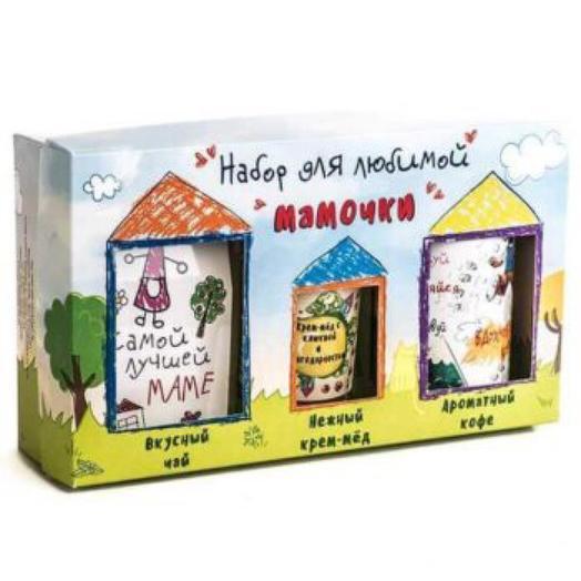 Подарочный набор из 3 продуктов «Для любимой мамочки»