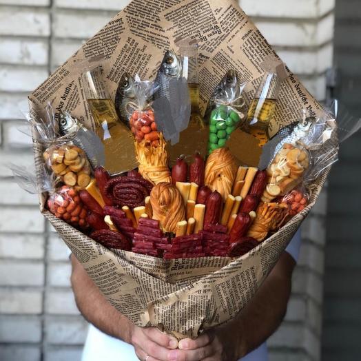 Мужской букет « Праздничный «