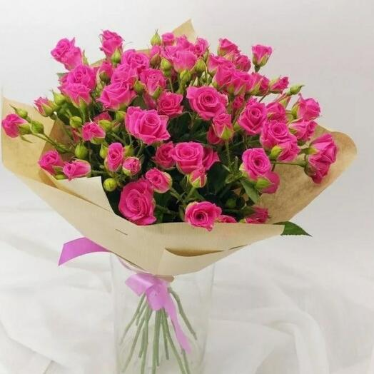 Букетик кустовыз роз