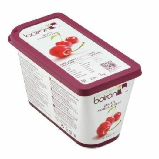 Пюре из вишни с сахаром Замороженное ТМ Boiron 1 кг