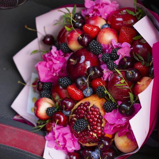 Букет из фруктов и ягод Летний 🌈