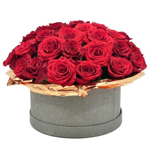 Букет Торжество (33 розы)