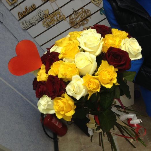 Теплый букет: букеты цветов на заказ Flowwow