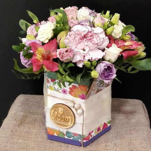 Нежный диантус: букеты цветов на заказ Flowwow