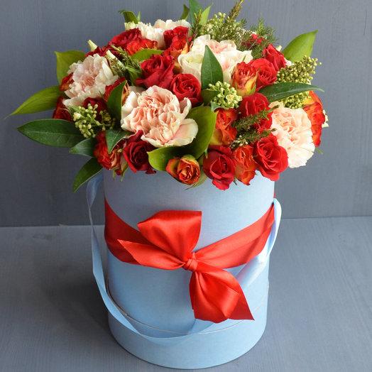 Песнь льда и пламени: букеты цветов на заказ Flowwow