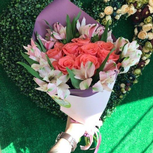Солнечный закат: букеты цветов на заказ Flowwow