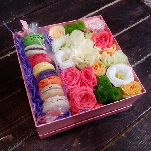 Сладкий презент: букеты цветов на заказ Flowwow