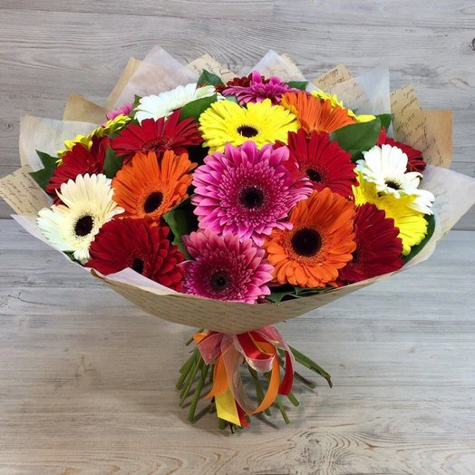 "Букет ""Огонек"": букеты цветов на заказ Flowwow"