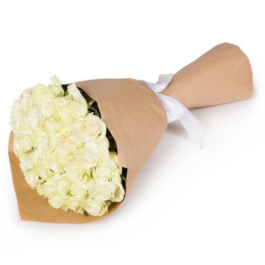 Белые пески Аравии: букеты цветов на заказ Flowwow