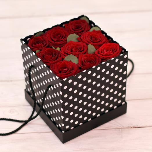 Коробка Одри: букеты цветов на заказ Flowwow