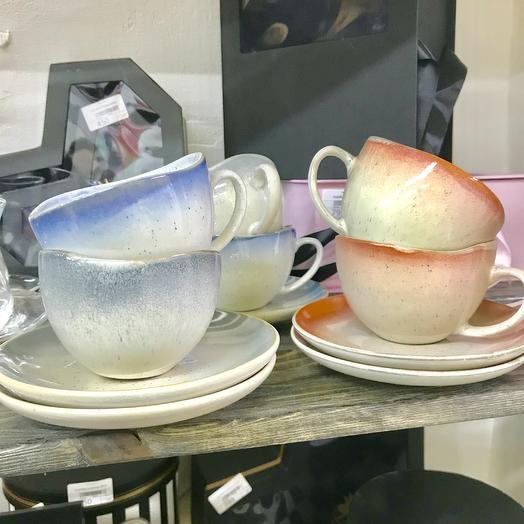 Чайный набор «Разноцветный»: букеты цветов на заказ Flowwow