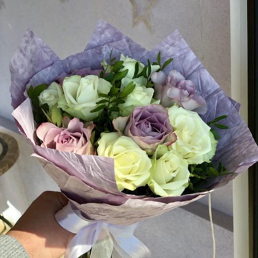 Букет Purple Love: букеты цветов на заказ Flowwow