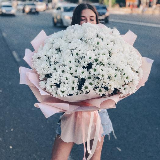 Облако Ромашек: букеты цветов на заказ Flowwow