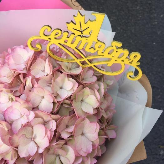 Букет на 1 Сентября 8: букеты цветов на заказ Flowwow