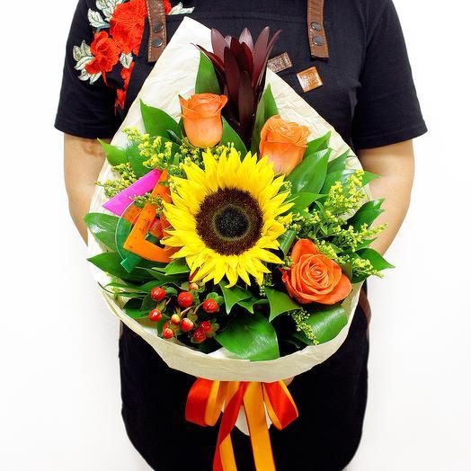 """Букет """"Учебный год"""": букеты цветов на заказ Flowwow"""