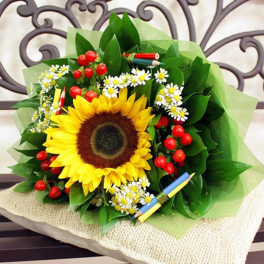 Букет Первоклашка: букеты цветов на заказ Flowwow