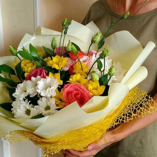 Букет к 1 сентября 8: букеты цветов на заказ Flowwow