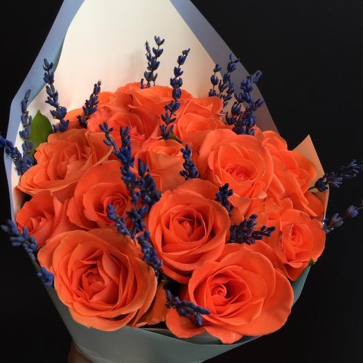 Букет розы: букеты цветов на заказ Flowwow