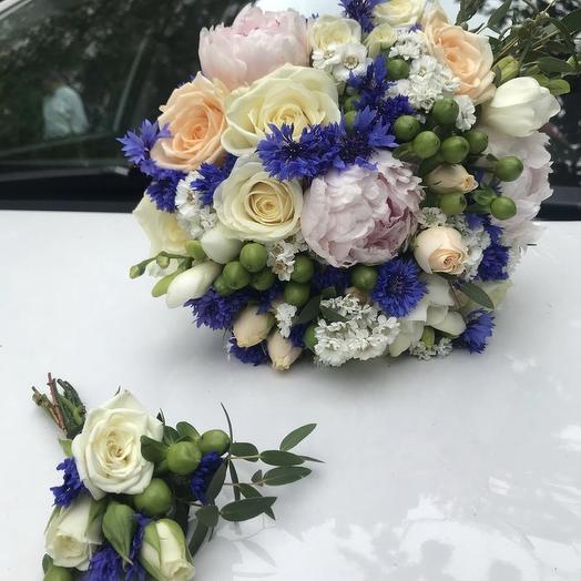 Букет невесты 08: букеты цветов на заказ Flowwow