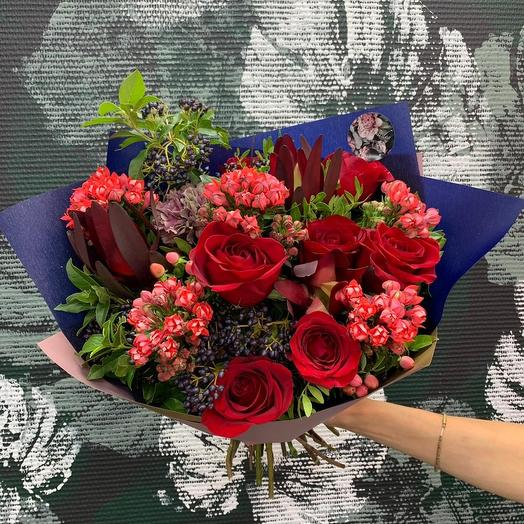 Букет Rumba: букеты цветов на заказ Flowwow