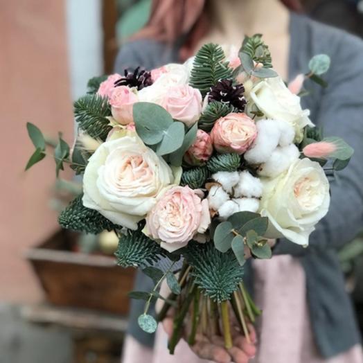 """Свадебный букет """"Долгожданное счастье"""": букеты цветов на заказ Flowwow"""