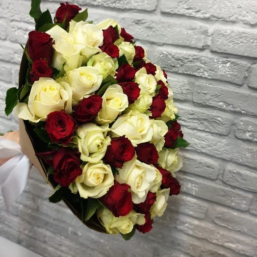 Классический микс: букеты цветов на заказ Flowwow