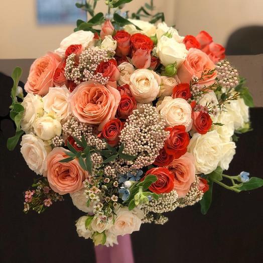 0005: букеты цветов на заказ Flowwow