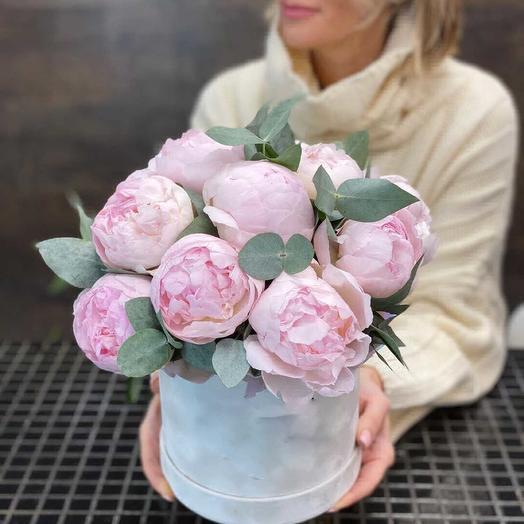 Пионовое утро: букеты цветов на заказ Flowwow