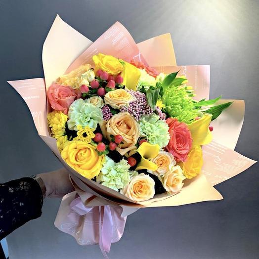 Букет «Расцвет красоты»: букеты цветов на заказ Flowwow